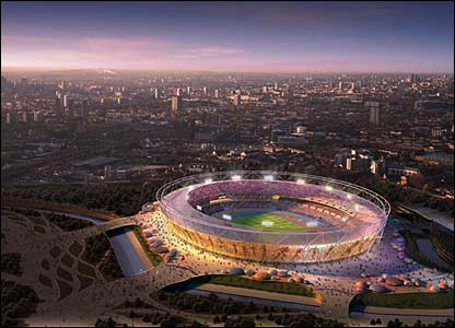 olympics london 2012 stadium. Design of 2012 Olympic Stadium