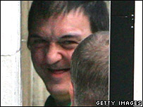 Barry George outside court (file picture)