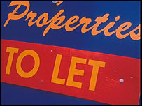 "A property ""to let"" sign"