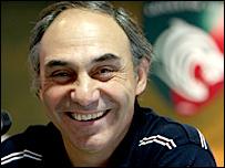 Leicester coach Marcelo Loffreda