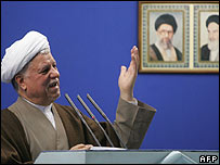 Former Iranian President, Ali Akbar Rafsanjani