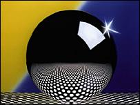 Silicon sphere (copyright: Physikalisch-Technische Bundesanstalt)