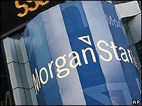 Billboard for Morgan Stanley