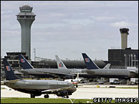 File photo of Chicago's O'Hare international airport