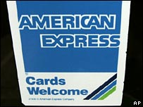 American Express sign