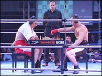 Chess Boxing competitors in Berlin