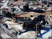 BHP's Olympic Dam uranium mine north of Adelaide