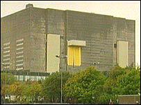 Trawsfynydd reactor building