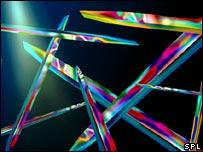 Cristales de vitamina D