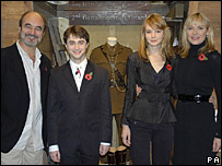 David Haig, Daniel Radcliffe,  Carey Mulligan and Kim Cattrall