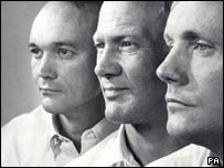 Armstrong, Aldrin and Collins