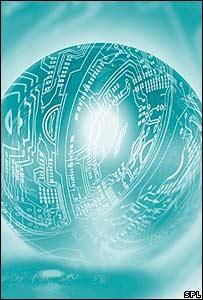 Quantum computing graphic