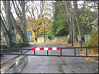 Stanhope Ford barrier