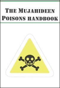 The Mujahideen Poisons Handbook which was found in Samina Malik's bedroom (Pic: Met Police)