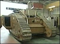 The Mk V tank