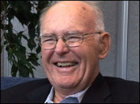 Gordon Moore laughing