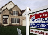 A glut of unsold homes is depressing US house prices