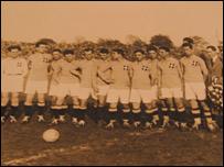 Johnny Moscardini and the Italian national team