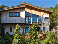 Sustainable house in Totnes
