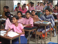 Class Two, Galachipa Primary School, Bangladesh