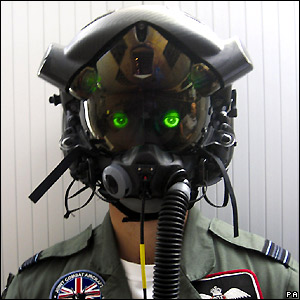 Prototype helmet for F-35 Joint Strike Fighter