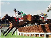 Cool Dawn winning the 1998 Gold Cup