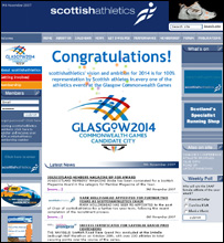 Scottish Athletics home page