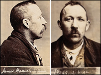 James Harris' mugshot taken in 1902 (picture: The Lens Festival)