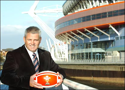 Warren Gatland was in Cardiff, being courted by Welsh Rugby Union chiefs for the Wales job