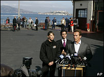 Governor Arnold Schwarzenegger in San Francisco