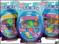 Aqua Dots, a Chinese-made toy