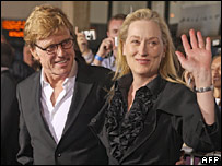 Lions for Lambs stars Robert Redford and Meryl Streep