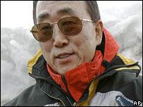 Ban Ki-moon in Antarctica 9-11-07