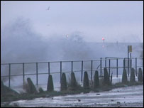 Sea defences breached in Great Yarmouth