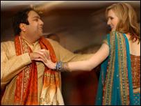Rakesh Aggarwal and Caroline Scrivens (Picture: Rajendra Pisavadia)