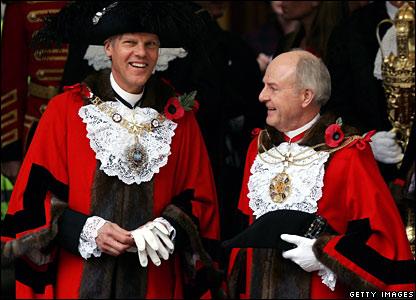 The Lord Mayor, David Lewis