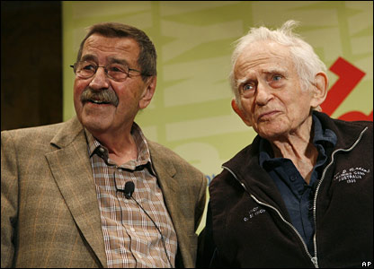 Gunther Grass and Norman Mailer (r) in June 2007