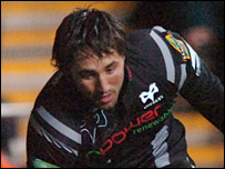 Centre Gavin Henson claimed an early try for the Ospreys