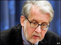 El relator de Derechos Humanos de Naciones Unidas Paulo Sergio Pinheiro