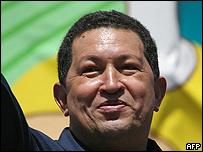 Hugo Ch�vez en la Cumbre de los Pueblos