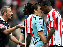 Joey Barton and Dickson Etuhu