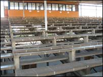 The Independence Stadium in Lusaka currently being renovated