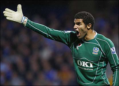 David James Goalkeeper For Portsmouth