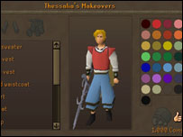 Screenshot from Runescape, Jagex