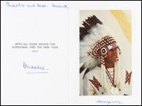 A Prince Charles Christmas card