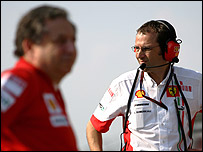 Jean Todt and Stefano Domenicali