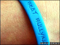 Anti-bullying wristband