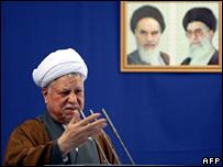 Akbar Hashemi Rafsanjani (2 November 2007)