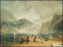 Lake of Lucerne by JMW Turner