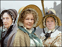 Dame Eileen Atkins, Dame Judi Dench and Imelda Staunton in Cranford